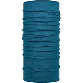 Buff Lightweight Merino Wool Neck Tube solid dusty blue